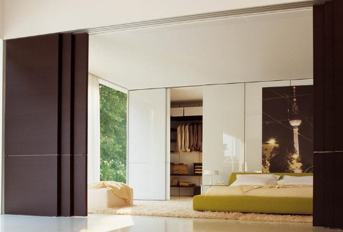 Sliding doors contemporary interior doors other for Sliding panel doors interior