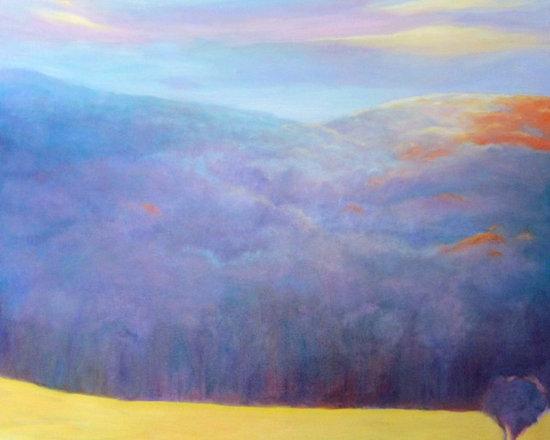 Early Morning Light / Hillsides  30x36 -