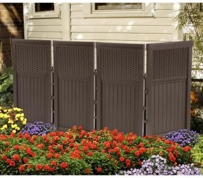 Outdoor Lawn Garden Fencing Retaining Walls Fencing