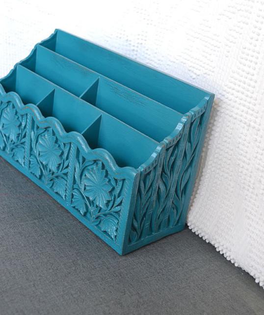 Vintage desk organizer by beautishe contemporary desk - Decorative desk organizers ...