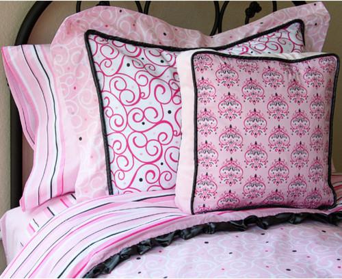 Luxe Girl Full/Twin Sheet Set modern-sheets