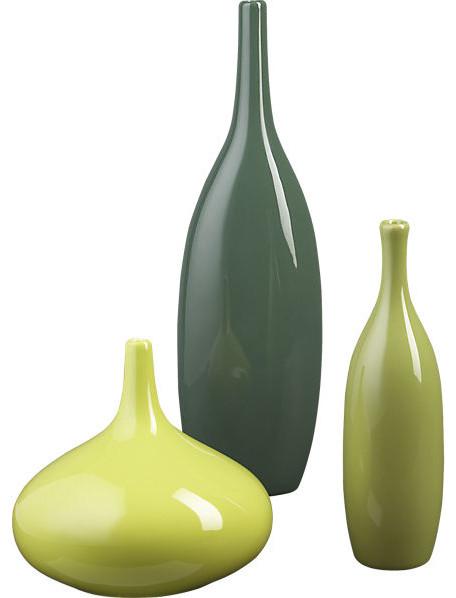 3 Piece Amigos Vase Set Contemporary Vases By CB2