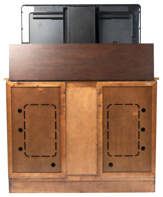 """Sonoma TV Lift Cabinet for flat screen TV's up to 46"""" modern-entertainment-centers-and-tv-stands"""