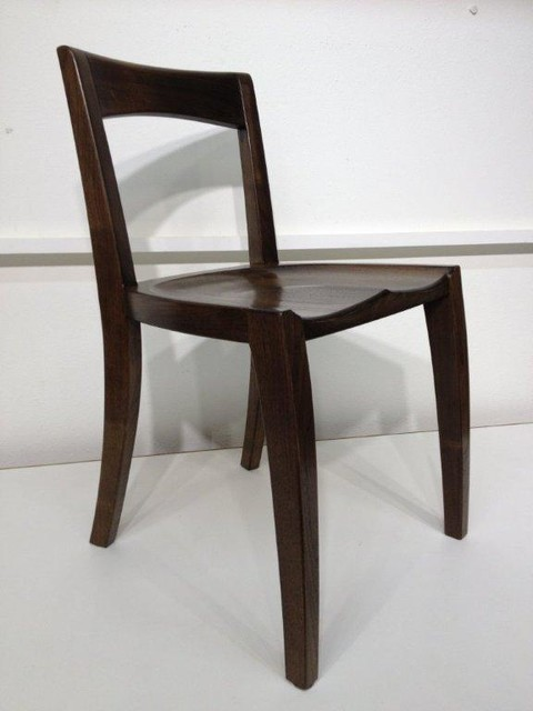 solid wood dining chair custom made contemporary