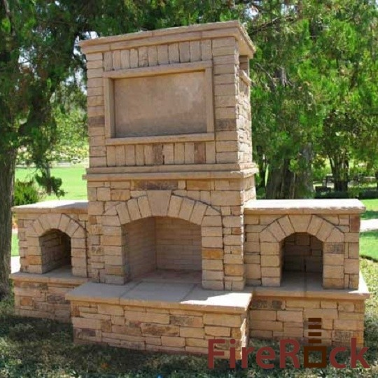 Firerock Outdoor Mediterranean Patio Charlotte By Firerock Products