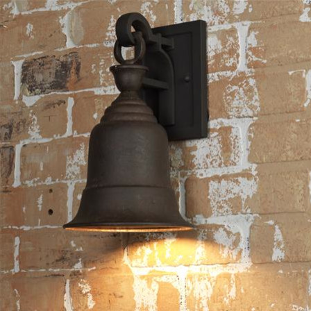Liberty Bell Outdoor Wall Lantern traditional-outdoor-wall-lights-and-sconces