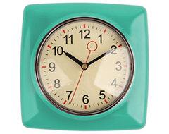Classic Wall Clock, Mint midcentury-clocks