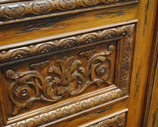 Carved and Mansion Entry Doors -