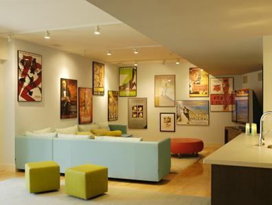 Donald Billinkoff Architects contemporary-basement