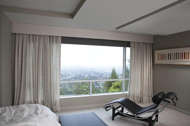 Bedroom Curtains - Modern - Roller Shades - san francisco - by Stitch Custom Furnishings