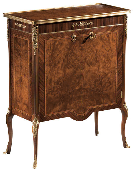 French demilune cabinet traditional nightstands and for French nightstand bedside table