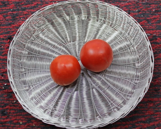 Handwoven Wire Tableware-Stainless Steel - http://www.sfhindia.com