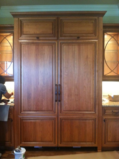 Custom RF panels traditional-kitchen-cabinetry