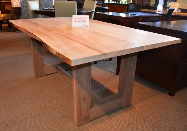 Live Edge Table Contemporary Dining Tables Toronto By Abacus Furniture Design