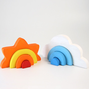 Sunny Day, Cloudy Day contemporary kids toys