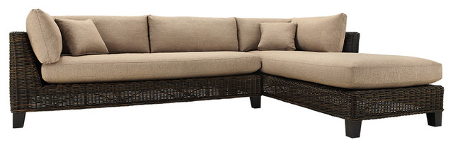 Finn Right Arm Outdoor Sectional traditional-outdoor-sofas