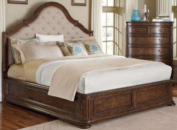 Art Furniture Cotswold Upholstered Panel Bed Art