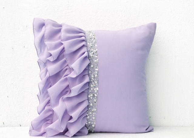 Decorative Pillow Designs : Handmade throw pillows, bed covers, quilt, table linens - Contemporary - Decorative Pillows ...
