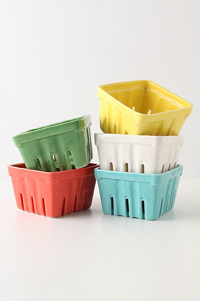 Farmers Market Basket, Small Square - Anthropologie.com