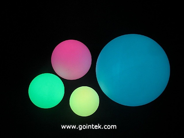Waterproof Outdoor Rechargeable Remote Control LED Ball modern