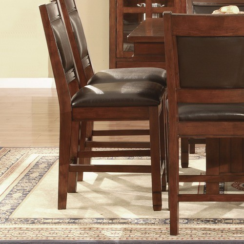 """Alpine Lodge 24"""" Counter Height Bar Stool in Cherry (Set of 2) modern-bar-stools-and-counter-stools"""