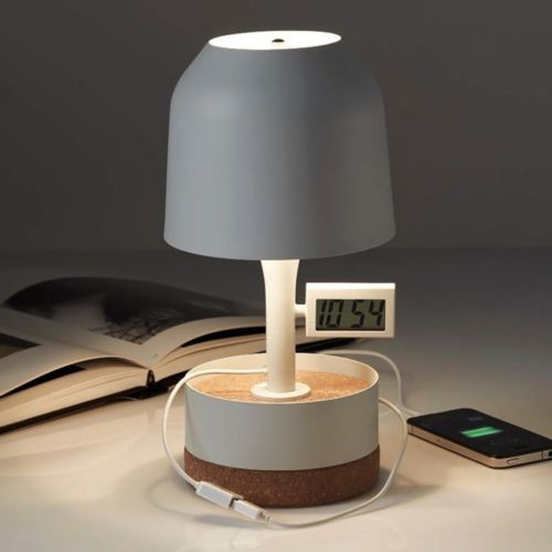 Hodge Podge Alarm Table Lamp by Forestier modern-table-lamps
