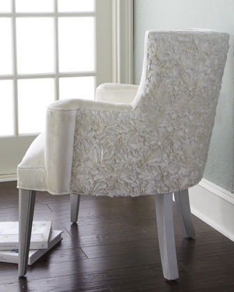 Haute House Rosette Chair traditional-living-room-chairs