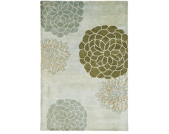 Safavieh Soho SOH211A LIGHT GREY Hand-Tufted, Bet traditional rugs