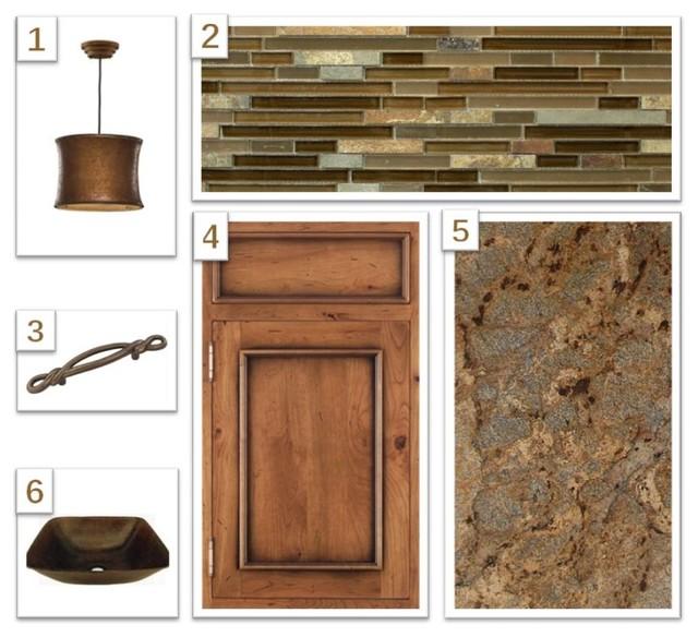 Digital Design Boards eclectic-kitchen