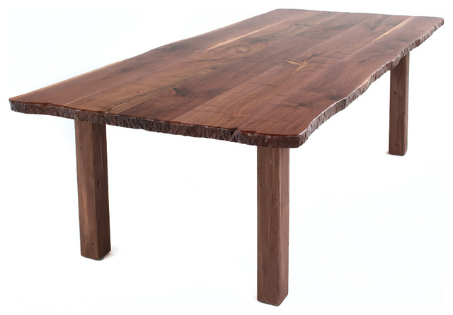 live edge farm table 120 x 48 farmhouse dining