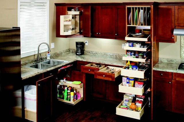Pull Out Shelves and Accessories for the Entire Kitchen