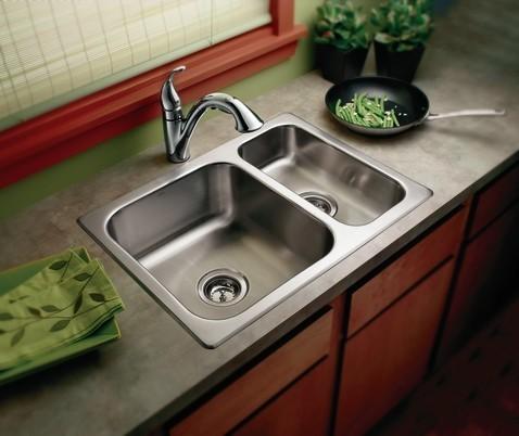 Moen Kitchen Sinks : All Products / Kitchen / Kitchen Fixtures / Kitchen Sinks