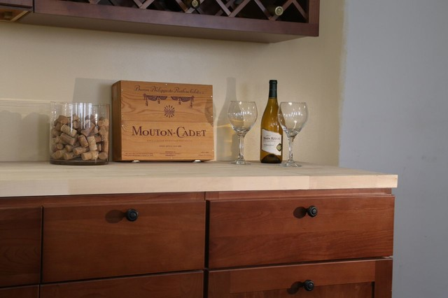 Findley & Myers Montauk Cherry Kitchen Cabinets - detroit - by Cabinets To Go