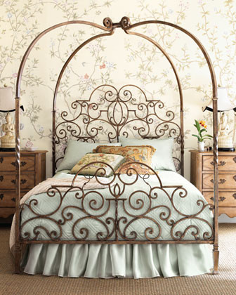 Tuscany Canopy Bed, Queen traditional beds