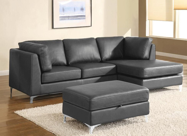 Luxury Furniture Italian Leather Upholstery Contemporary Sectional Sofas Miami By Prime