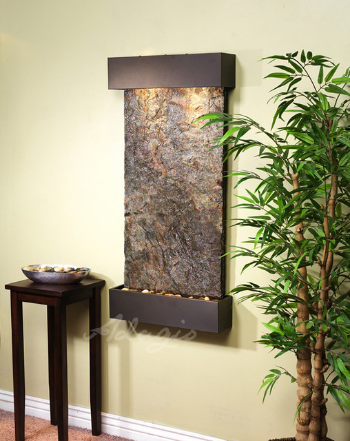 Indoor Wall Waterfalls : ... / Decorative Accents / Plants, Pots & Fountains / Indoor Fountains