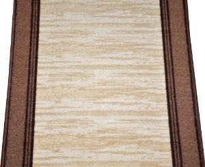 Dean Washable Carpet Rug Runner - Boxer Beige - Purchase By the Linear Foot modern-rugs