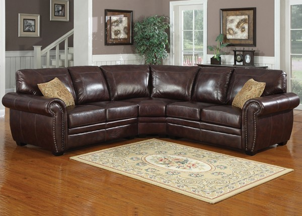 AC Pacific Furniture Louis Sectional Lou