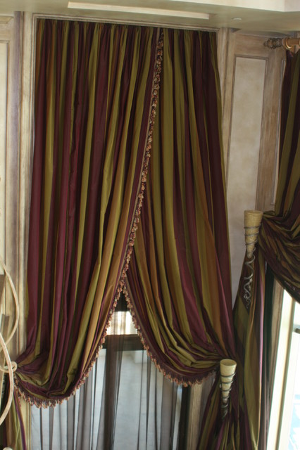 vegas penthouse eclectic-curtains
