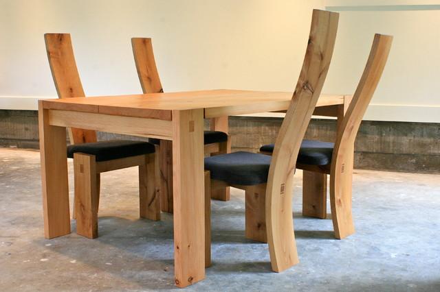 Butterflied Fir slab farm table Modern Dining Tables  : modern dining tables from www.houzz.com size 640 x 426 jpeg 65kB