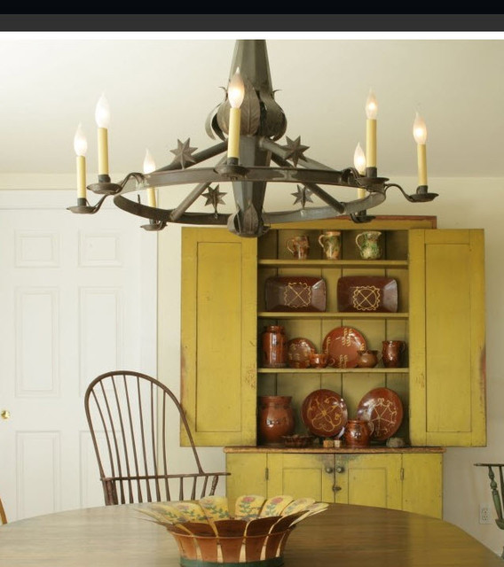 Chandeliers eclectic-dining-room