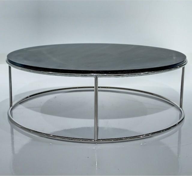 Elysee Coffee Table - Charcoal Oak modern-coffee-tables