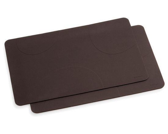 Blomus - Desa Silicon Placemats, Set of 2 - From Blomus' Desa Collection of modern kitchen accessories, this set of 2 silicon placemats make the perfect complement to any contemporary setting.