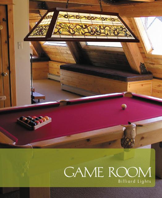 Tiffany Buckingham 4-Light Billiard And Pool Table Light