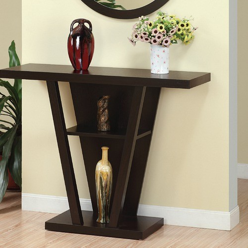 Newbury console table modern side tables and end tables for Sofa side table designs
