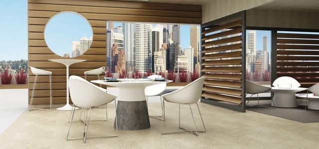 Horizon Outdoor Dining Table Modern