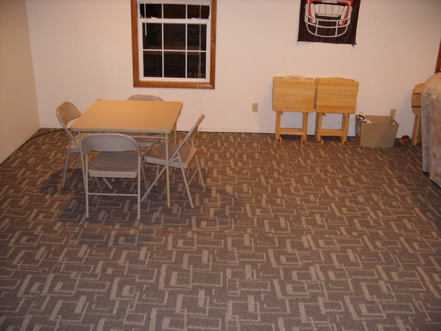 Rec Room Flooring Modern Cleveland By Building 9
