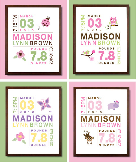 Nursery Artwork  kids decor