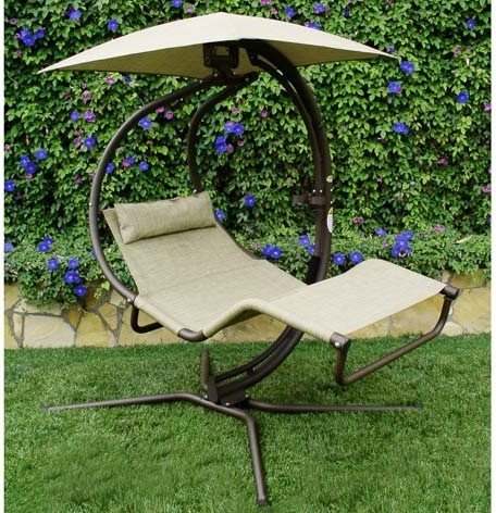 Outdoor Lounger Swing Set 14