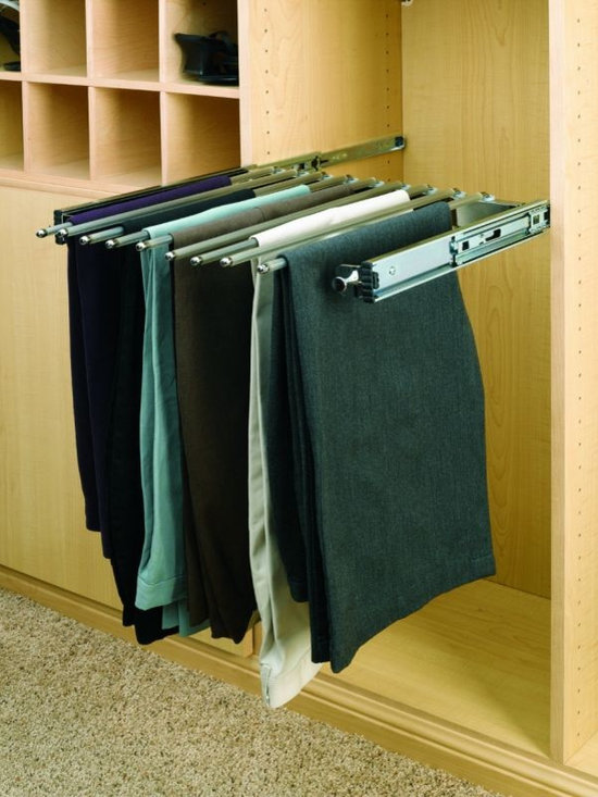 Product & Accessory Ideas - Sliding pant and tie hang rack